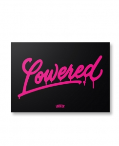 Lowered Limited Premium Print