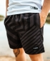 Preview: LWSFCK® DAZZLE SWIMSHORTS - BLACK GREY