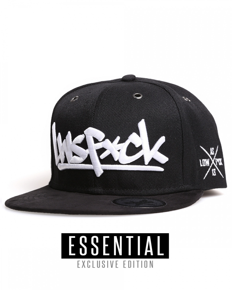 LWSFCK® TEAM SNAPBACK CAP - EXCLUSIVE EDITION BLACK