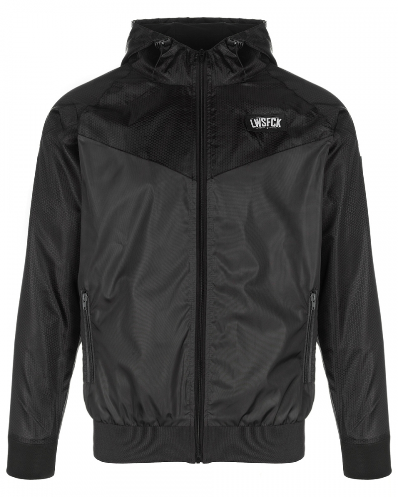 LWSFCK® Black Edition Windbreaker