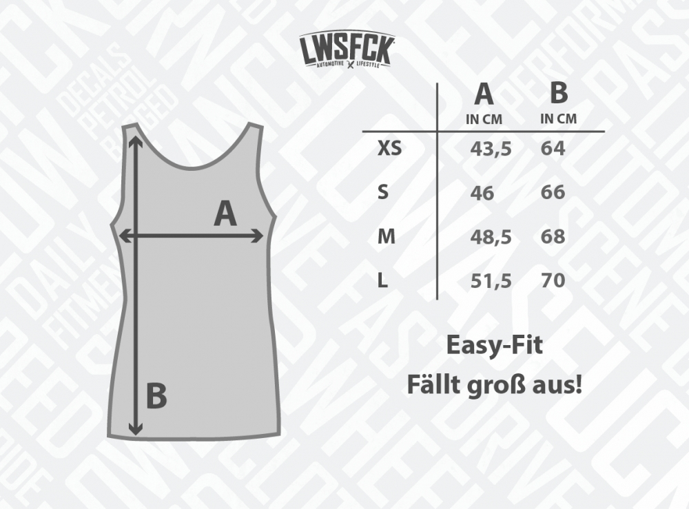 Girls Lowered Graffiti Oversize Tank Top Grey