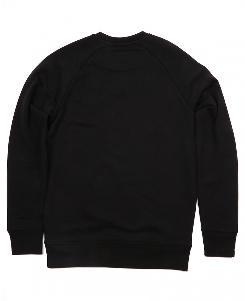 LWSFCK® BLACK STATIC CREWNECK