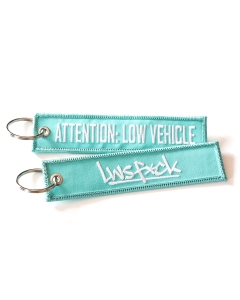 Attention Low Vehicle Keychain Mint