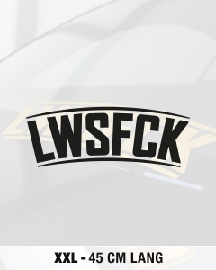 LWSFCK CURVED XXL AUFKLEBER 45 CM - Version 2017