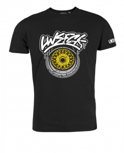 LWSFCK® Wheelporn Shirt Black Yellow