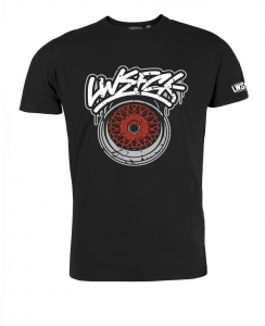 LWSFCK® Wheelporn Shirt Black Red