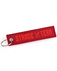 Stance Team Keychain All Red