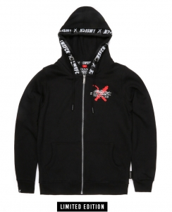 LWSFCK® STATIC ZIPPER - BLACK