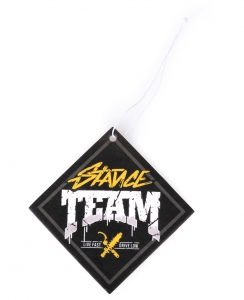 Stance Team Air Freshener Black Yellow
