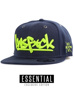 LWSFCK® TEAM SNAPBACK - EXCLUSIVE NAVY LIME