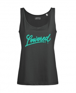 Girls Lowered Oversize Tank Top - Anthrazit