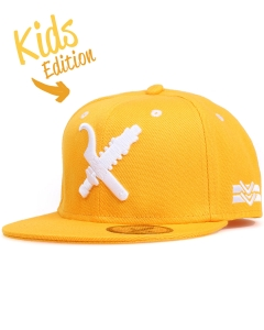 KIDS LWSFCK STATIC SNAPBACK CAP - YELLOW