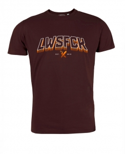 LWSFCK® EST.13 SHIRT - Darkred